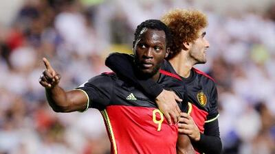 Bélgica superó 3-0 a Chipre a domicilio con doblete de Lukaku