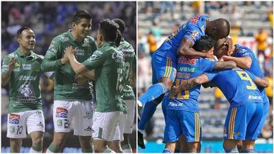 León y Tigres ya están calificados; Chivas, prácticamente eliminado
