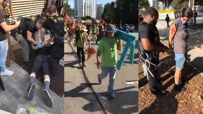 Protesta contra el cambio climático en Atlanta termina con más de una docena de arrestos
