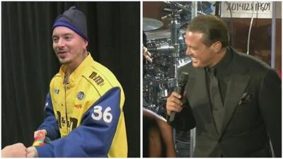 In the Mix: Luis Miguel lost his cool and J Balvin lost his balance