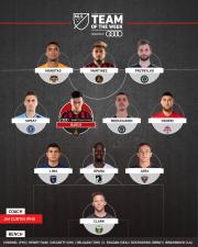 Atlanta United vuelve a brillar, y Josef Martínez y Ezequiel Barco lideran el Equipo de la Semana