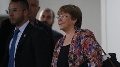 Expectativa en Venezuela tras la llegada de Michelle Bachelet, quien se reunirá con el régimen y Juan Guaidó