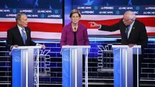 Así fue el debate demócrata: ataques a Bloomberg, momentos tensos y sin discusión sobre inmigración
