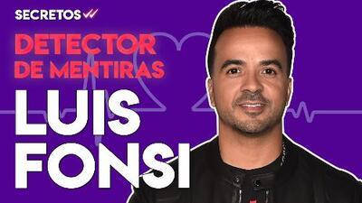 SECRETOS: Luis Fonsi pasa por el detector de mentiras y nos deja varios Secretos