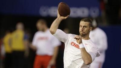 Alex Smith confesó que está sorprendido por el cambio de régimen en los 49ers