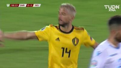 ¡GOOOL! Dries Mertens anota para Belgium