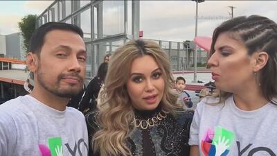 Chiquis Rivera se une a Univision contigo para ayudar a los niños