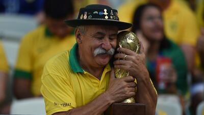 Muere el 'Gaúcho da Copa', el aficionado de la selección de Brasil más famoso