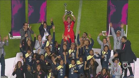 ¡Campeonas de la Liga MX Femenil! América se corona en el Apertura 2018