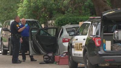 Autoridades investigan el posible robo de un automóvil de correspondencia en el norte de San Antonio