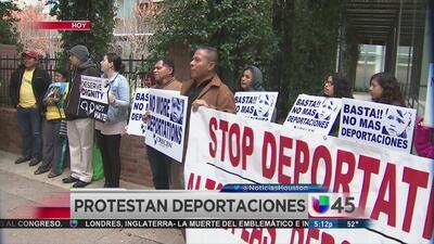 En Houston piden alto a las deportaciones