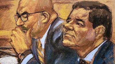 El jurado escuchó por primera vez la voz de 'El Chapo' en el juicio contra el capo