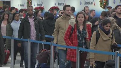 Éxodo masivo de viajeros en Chicago por Día de Acción de Gracias