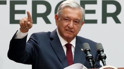 López Obrador presenta el informe de su primer año de gobierno reconociendo las dificultades