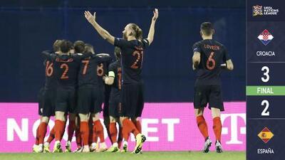 ¡Dulce revancha! Croacia vence a España de último minuto con doblete de Jedvaj