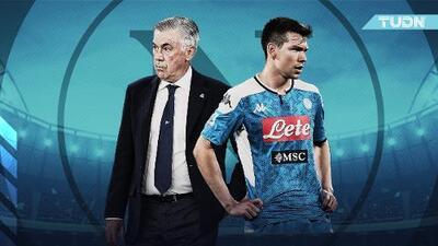 Chucky Lozano, ¿el más perjudicado con la posible salida de Ancelotti?