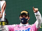 Checo Pérez habló sobre su segundo lugar en el podio del GP de Turquía