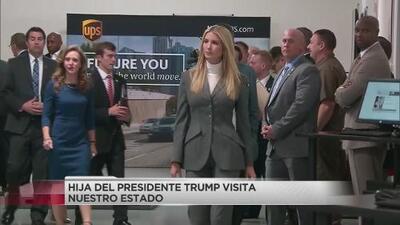 Ivanka Trump visitó el área de Atlanta; promovió el desarrollo de los trabajadores