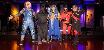 FOTOS: Conoce los disfraces de Halloween de El Show de Raúl Brindis 📸