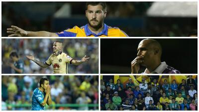 Lo mejor y lo peor del León vs América y Jaguares vs Tigres en la vuelta de los cuartos
