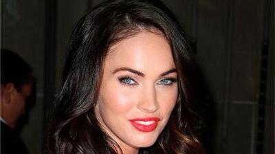 La suerte de las feas a Megan Fox no le importa, ella es feliz siendo hermosa