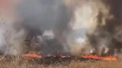 Tres bomberos heridos, el saldo de voraz incendio en Chino Hills que inició un pájaro, según autoridades
