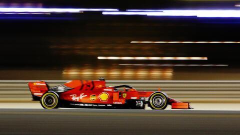 Ferrari se lleva las pruebas del GP de Baréin; 'Checo' Pérez fuera de los primeros 10