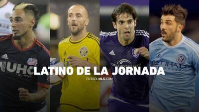 ¿Quién es el Latino de la Jornada 15? Fagúndez, Higuaín, Kaká y Villa, nominados
