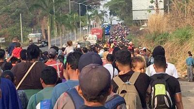 En qué consiste la caravana de migrantes centroamericanos que despertó la ira de Trump