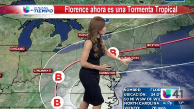 Nueva York y Nueva Jersey podrían recibir el impacto de Florence
