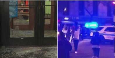 """""""Vamos a venir por ti"""": alcaldesa tras saqueos en Chicago que dejan daños, arrestos y oficiales heridos"""