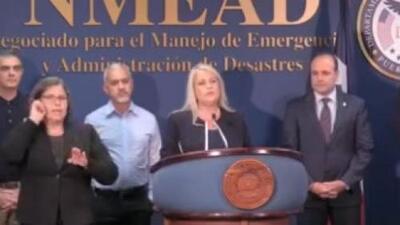 Wanda Vázquez suspende actividades en el gobierno por el paso de Karen