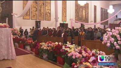 Sacramento le canta las mañanitas a la Virgen de Guadalupe