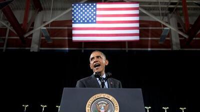 """Obama a los republicanos: """"Aprueben una ley"""""""