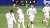 Real Madrid se reencuentra con el triunfo ante el Huesca