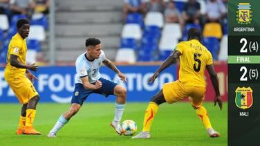 Malí hizo la hombrada y dejó fuera a Argentina en el Mundial Sub-20