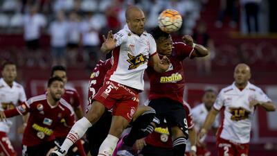 Huracán derrota por la mínima al Caracas en la primera fase de la Copa Libertadores