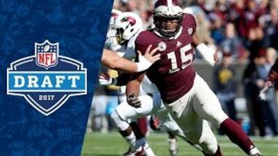 Myles Garrett College Highlights & 2017 NFL Draft Profile
