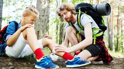 Golpes, alergias y más lesiones comunes de los campamentos de verano