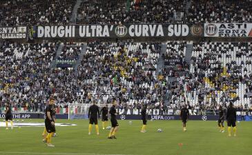 Así recibió el Juventus Stadium su primer partido de Champions League en esta temporada