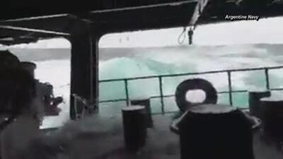 Así son las condiciones climáticas que complican la búsqueda del submarino argentino perdido