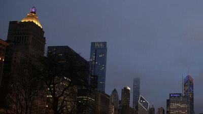 Chicago se prepara para una noche de viernes fría y con cielos parcialmente nublados