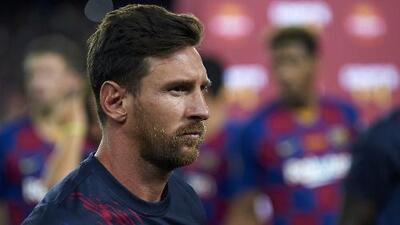 Messi regresa a entrenar con el Barcelona