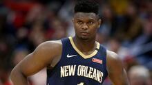 Por emergencia familiar, Zion Williamson abandonó la 'burbuja' de la NBA