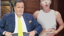 Raúl compara su barriga de vacaciones con el tonificado abdomen de Laura Flores