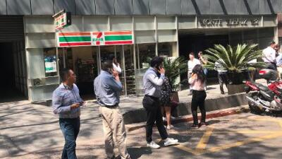 Un sismo de magnitud 5.7 sacude el sur de México y se siente en la capital del país