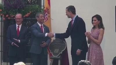 Los reyes de España están de visita en San Antonio por el aniversario de la ciudad