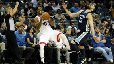 DeRozan lidera a los Raptors para ganarle a los Grizzlies 107-116