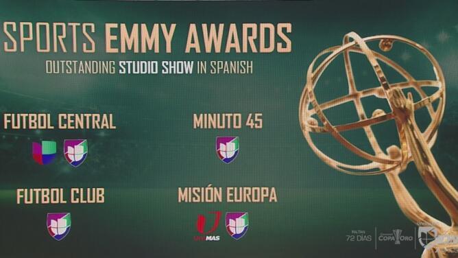 Univision Deportes, nominado en varias categorías en los Sports Emmy Awards
