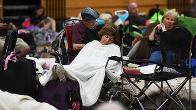 Más de 8,700 personas ya están en albergues en el condado de Broward